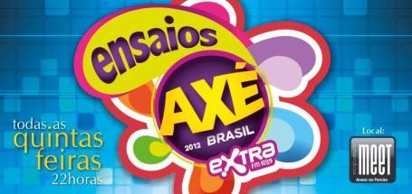 Ensaios do Axé Brasil 2012 no Porcão